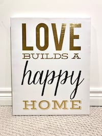 Love Builds a Happy Home gallery wrapped canvas Oshawa, L1K 2W3