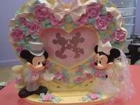 pink and yellow floral Walt Disney Mickey and Minnie Mouse party favor 368 mi