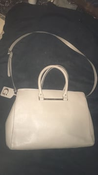 Guess White leather 2-way bag Kitchener, N2G 1N1