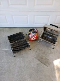 Set of 2 Portable Charcoal Grills Norfolk, 23503