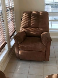 2 Brown suede reclining  Chairs  Upper Marlboro, 20772