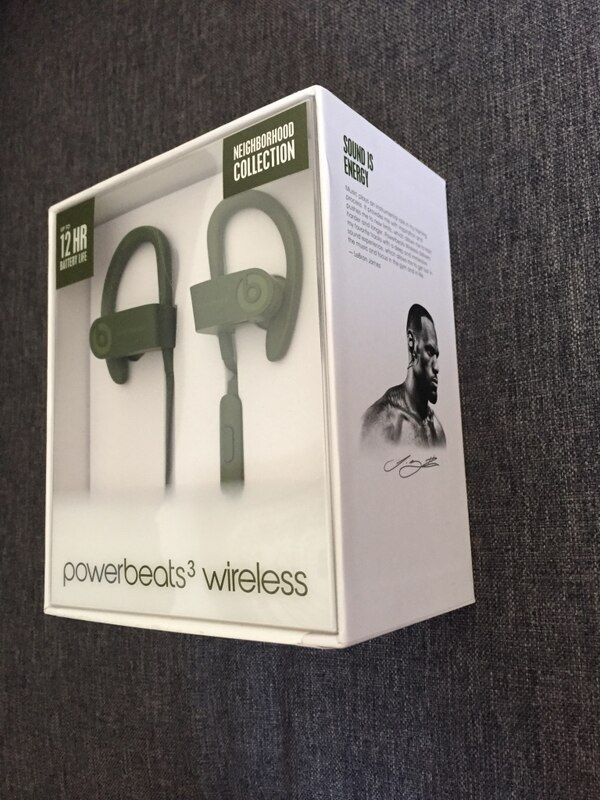 Beats Powerbeats3 Wireless Earphone - Neighborhood Collection - Turf Green  (Authentic Beats)