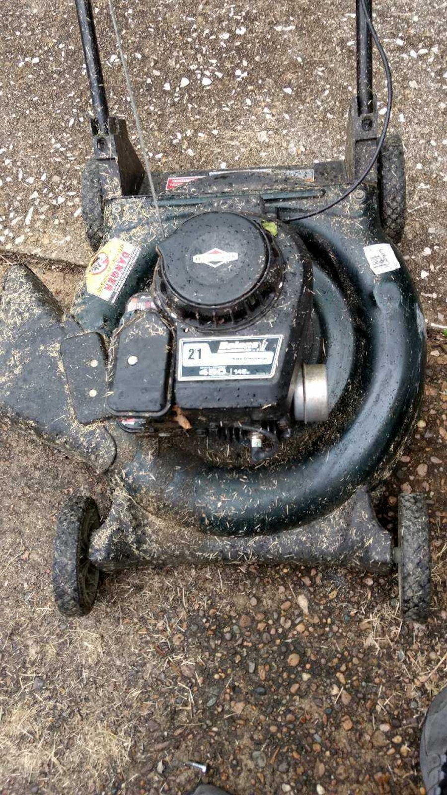 Used briggs and stratton motor in evansville for Select motors evansville in