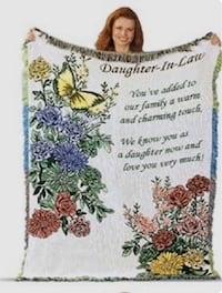 Daughter in Law: Throw blanket