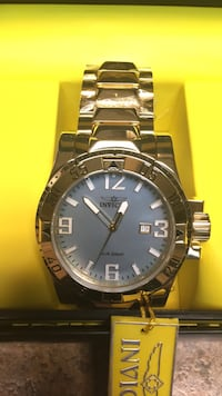 New Beautiful Mother of Pearl face. Invicta Excursion..****