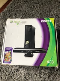 Xbox 360 Kinect and 6 sports games San Diego, 92131