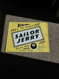 Sailr Jerry Spiced Rum poster Des Moines, 50317