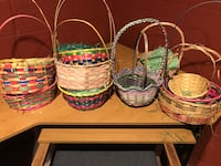 Multiple Easter baskets perfect time for Easter. $20 for all of them.
