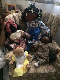 assorted afro art vintage dolls Cathedral City, 92234