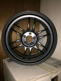 REDUCED TO 800.00 Enkei racing rims Red Deer, T4N 3Z3