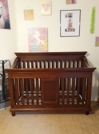 baby's brown wooden crib Gilbert, 85212