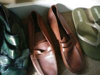 pair of brown leather loafers Canton, 44730