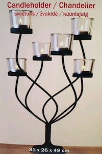 SEVERAL BEAUTIFUL CANDLE HOLDERS!!!