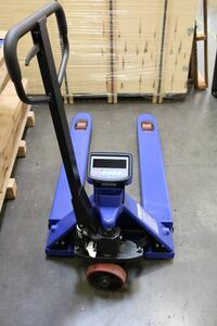 Pallet Jack Scale 5,000 lb Capacity with LCD Digital Display