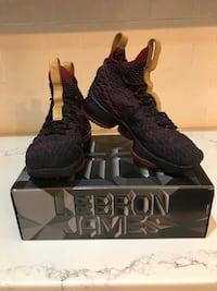 lebron 15s size 7 youth Huntsville, 35811