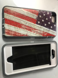 Heavy Duty Case usa flag old glory for iPhone 6 6s 7 8 plus phone new Bowling Green, 42103