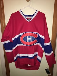 NHL Montreal Canadiens jersey, action figure and hall of fame plaque lot Maple Ridge, V2X 6E4