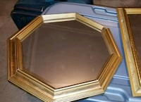brown wooden framed mirror  Gaithersburg
