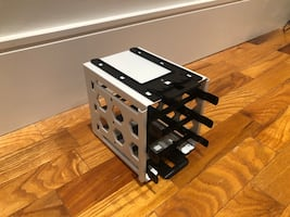 Hard Drive Cage Rack with Drive Trays