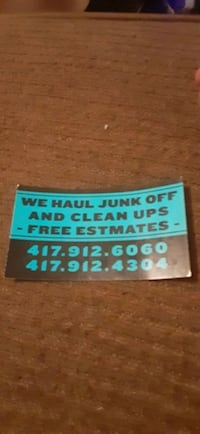 Junk removal Springfield