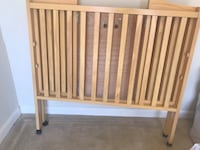 brown wooden bed headboard and footboard Woodbridge, 22191