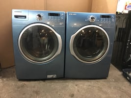 Set washer and dryer SANSUMG Electric