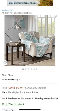 Madison Park Chair cover
