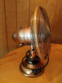"12"" Copper Metal 3 speed Fan Fremont"