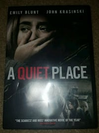 A Quiet Place (movie DVD)
