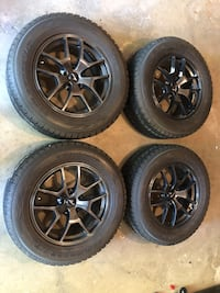[TL_HIDDEN]  winter tires on rims Mississauga, L5B 3C9