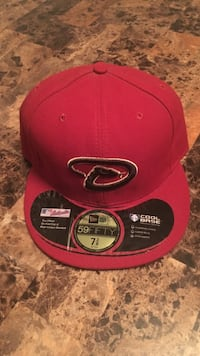 red and black New Era 6-panel cap Bothell, 98012