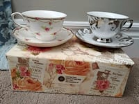 New Teacups & Saucers - both for $10! Kitchener