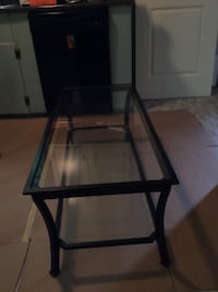 Iron and glass coffee table. Good condition , a little rust on edges. Chester, 06412