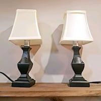 Two small table lamps Hamilton, L9A 2X5
