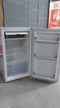 White personal refrigerator