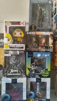 Pop vinyl toys starting at $5 and up to $15 Bradford West Gwillimbury, L3Z 1B4