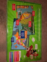 Tag System interactive learning US Map Bonner Springs, 66012