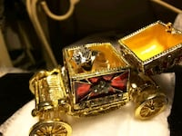 TRINKET CARRIAGE $17.  SOLITAIRE RINGS $25 Ladson, 29456