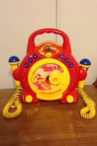 Toddler sing a long CD karaoke  player with 2 microphones Dumfries, 22025