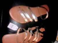 pair of brown leather sandals Riverdale, 93656