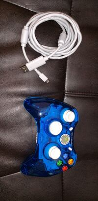 Blue rock candy xbox 360 controller Manville, 02838