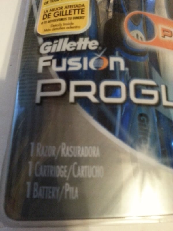 Gillette Fusion Proglide Power Razor Blade cartridge battery NEW 0