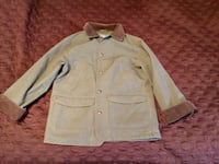 Olive Green, LL Bean button-up collared jacket Kingstree, 29556