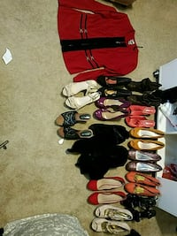 assorted-color-and-brand shoe lot Washington, 20001