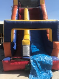 black and yellow inflatable castle Indio, 92203