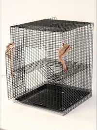 Small animal cage - Black 27 mi