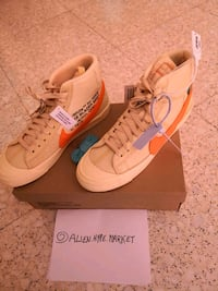 Nike x Off-White Blazer Mid Orange US10/EU44  Rome, 00187