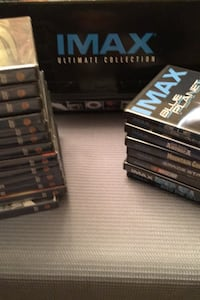 DVDs IMAX Ultimate Collection.