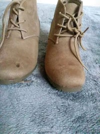 pair of brown suede chukka boots Antioch, 94509
