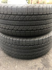 2 tires 265/50 r20 $60 for both tiers good year  Leesburg, 20176